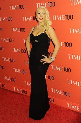 Christina Aguilera has lost weight recently but said she refused to cut out her favourite foods.