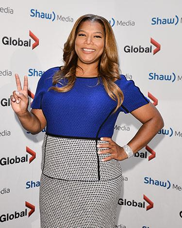 "Queen Latifah told People magazine """"I don't really diet. I kind of keep everything in moderation, exercise and eat right""."