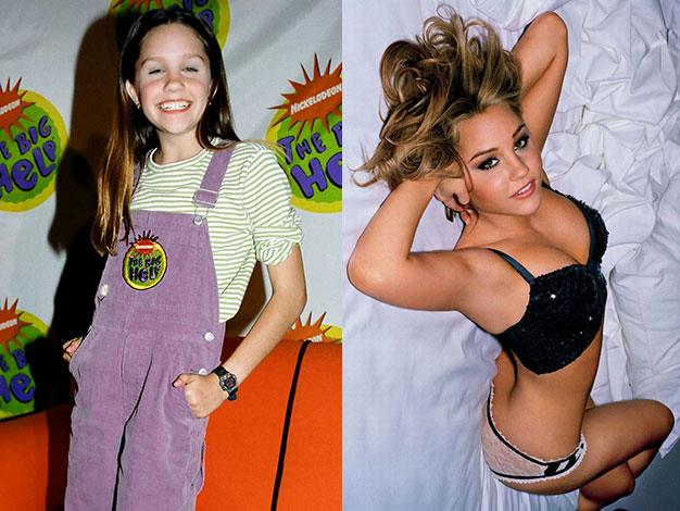 The Amanda Show star Amanda Bynes posed in a raunchy shoot for Maxim magazine (right) before having a very public breakdown earlier this year.