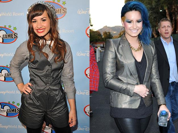 Camp Rock star Demi Lovato went into rehab in 2010 to treat bulimia, self-harming behaviour and problems with drugs and alcohol.