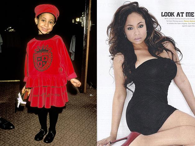 Raven Symone was the pint-sized star of That's So Raven. Here she is all grown up in Vibe magazine