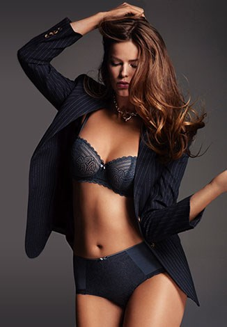 """The size 16 model stars in the campaign wearing no """"plus-size"""" pieces."""