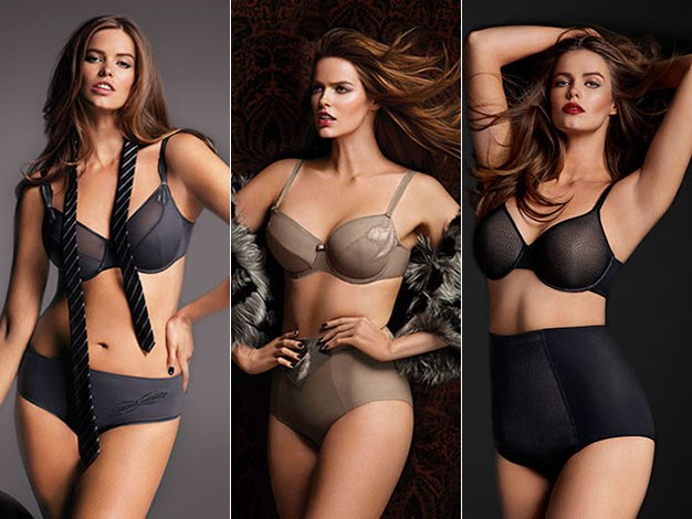 Robyn Lawley is the new face of French lingerie company Chantelle Paris.