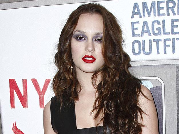 Leighton Meester's foundation was several shades too pale in November 2009.