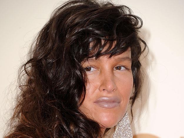 Actress Paz de la Huerta overdid the fake tan and chose the wrong shade of lipstick at the Emmys in 2011.