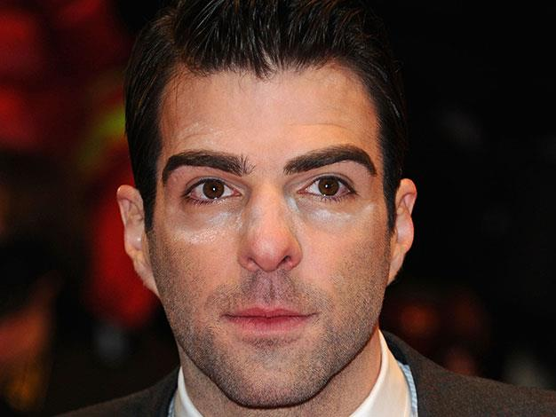 Zachary Quinto also had a powder malfunction at the Berlin Film Festival in February 2011.