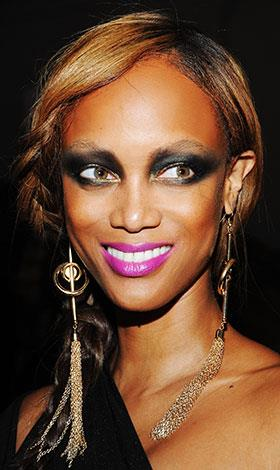 Tyra Banks was widely criticised for this look in May 2012.