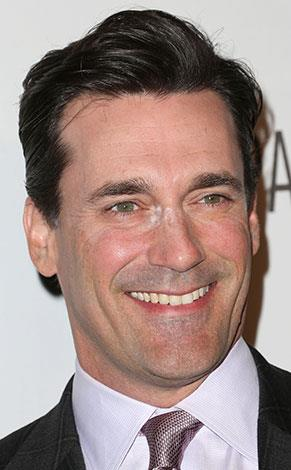 Even men have makeup mishaps! Jon Hamm had a powder problem in October 2012.