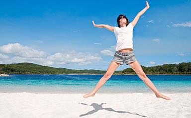 Family holiday ideas on Fraser Island