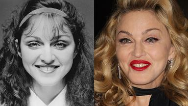 The changing face of Madonna
