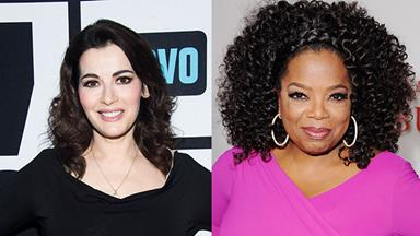 Nigella Lawson to tell-all to Oprah Winfrey