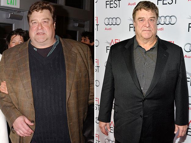 John Goodman lost a huge amount of weight from 2003 to 2013.