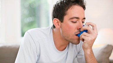Men with asthma struggle with sex