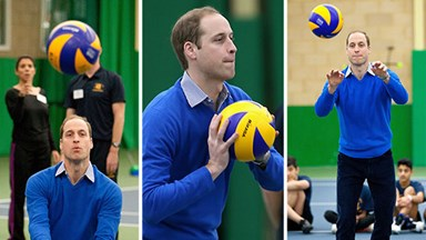 Prince William's daggiest sporting moments