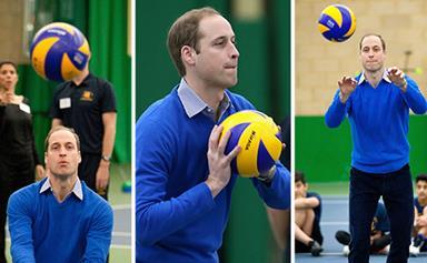 Prince William's daggiest sporting moments