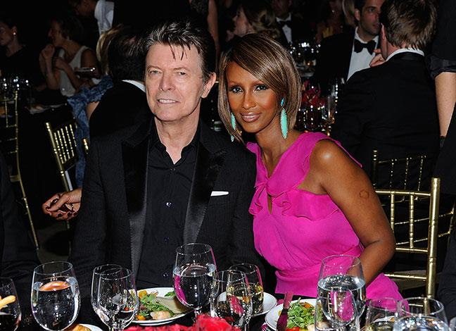 Iman and David Bowie have been married for 21 years. It is his second marriage and her third.