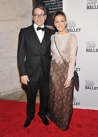 Sarah Jessica Parker and Matthew Broderick married in 1997 and have three kids.