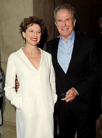 Warren Beatty and Annette Benning have been married for 21 years.
