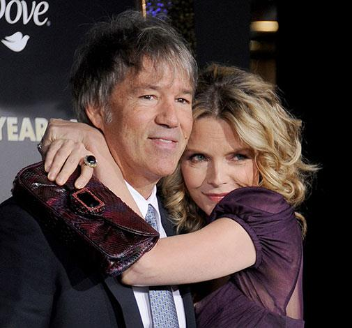Michelle Pfeiffer married David E. Kelley 20 years ago after her first marriage lasted seven years.