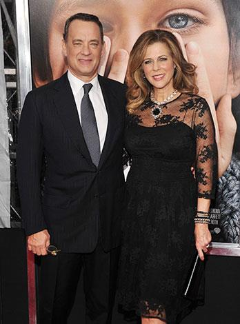 Tom Hanks and Rita Wilson have been married for 25 years and have two children together.
