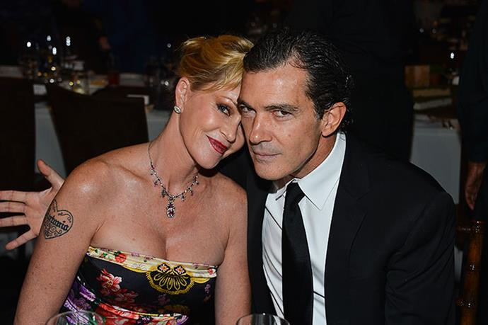 Antonio Banderas and Melanie Griffith have been together for 17 years.