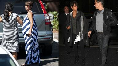 Halle Berry shows off post-baby body