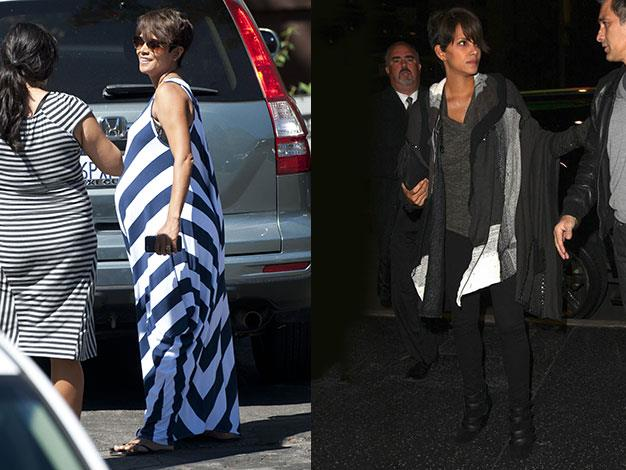 Halle Berry appears to have lost all her baby weight in just two months.