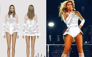 Beyonce's legs stretched and slimmed in controversial sketch
