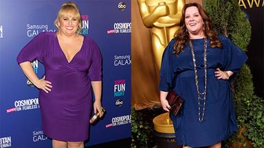 Rebel Wilson and Melissa McCarthy promise to never lose weight