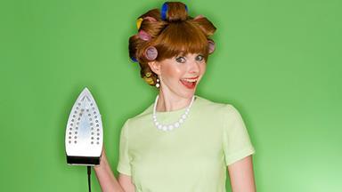 'All women secretly love doing the ironing'