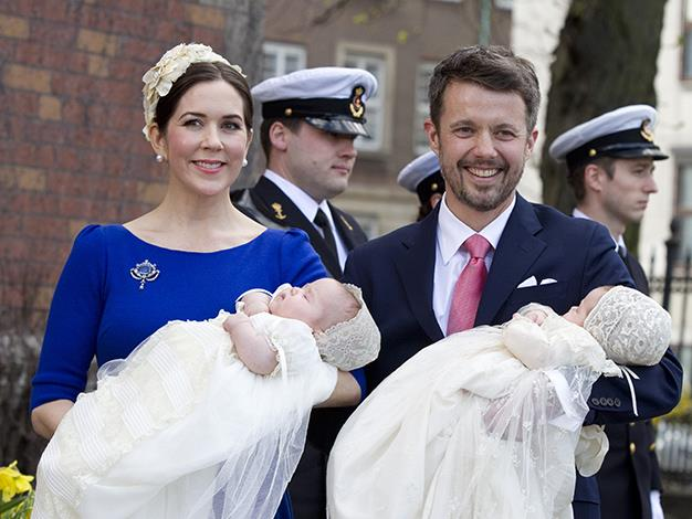 The couple welcomed their adorable twins, Prince Vincent and Princess Josephine in 2011.