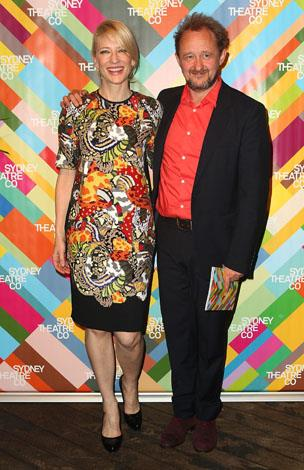 Cate with husband Andrew Upton at the Sydney Theatre Company 2014 Season Launch in September.