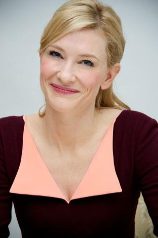 Cate's close-up: With flawless skin it's no wonder the star has been an ambassador skincare brand SKII for almost a decade.
