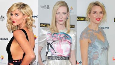 Australian celebrities shine at G'Day USA