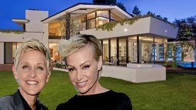 Inside Ellen's new $40m Hollywood home