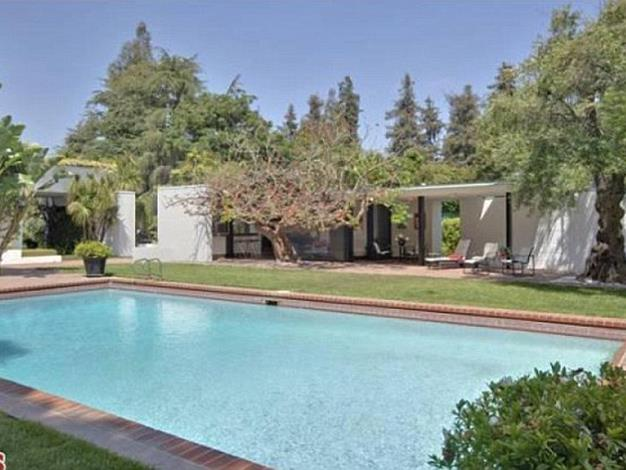 The home features a private 25-metre swimming pool.
