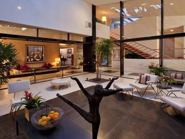 The stunning home comes fully-furnished.