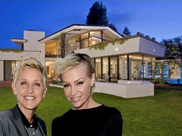 The couple paid a record price for the stunning home.