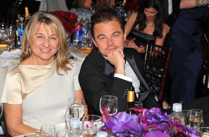 Leonardo regularly takes mum Irmelin as his date to Hollywood events.