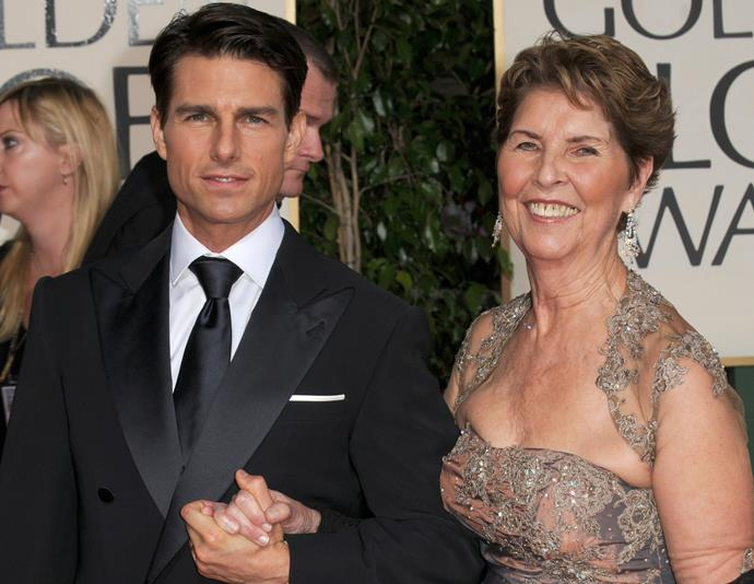**Tom Cruise** took his mum Mary Lee Mapother to the 2009 Golden Globes