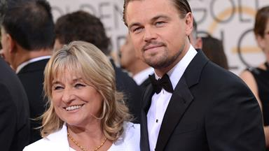 Celebrities and their mothers on the red carpet
