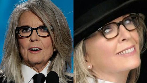 Diane Keaton photoshop