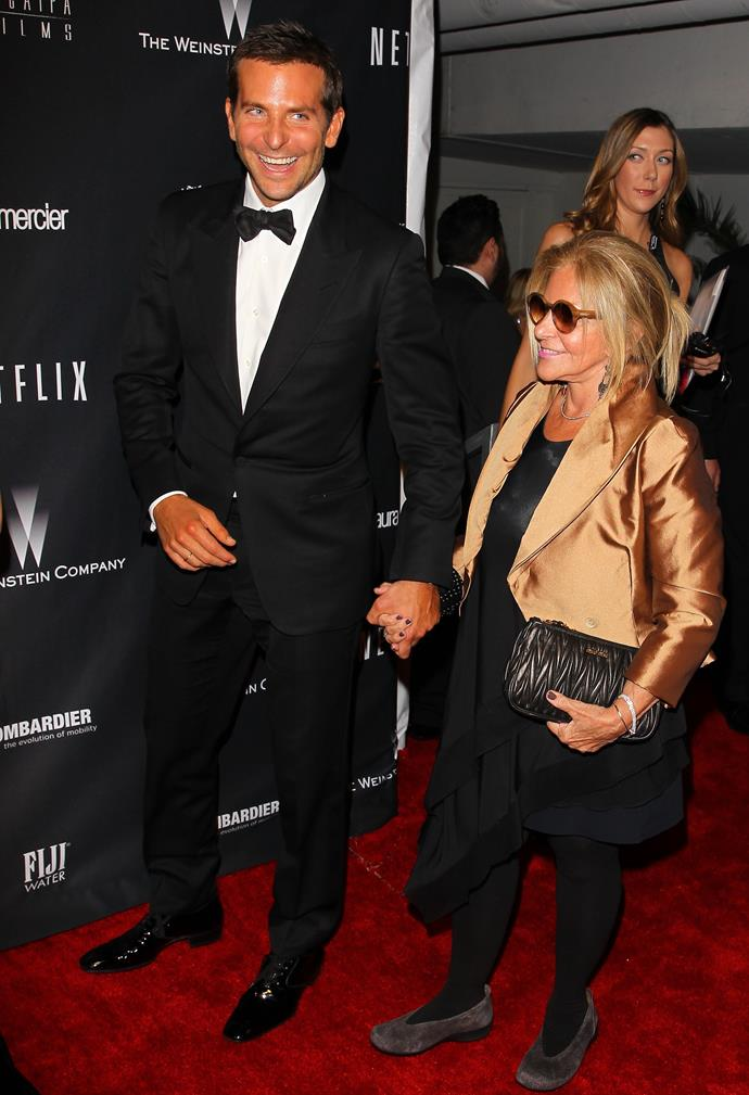 **Bradley Cooper's** date to the awards was his mum, Gloria Campano.