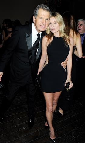 Kate and Mario attend the Stella McCartney Special Presentation during London Fashion Week Autumn/Winter 2012.