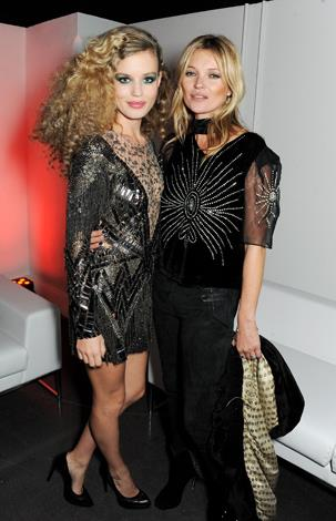 Kate, along with Georgia May Jagger, is the face of Rimmel London.