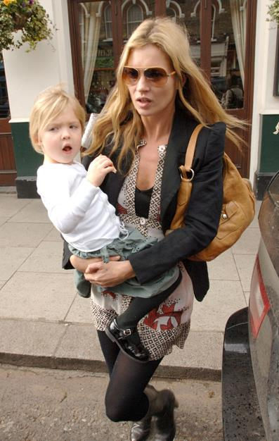 Kate welcomed daughter Lila Grace in 2002 with Dazed and Confused editor Jefferson Hack.