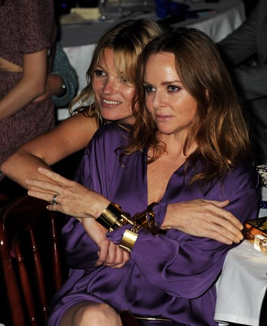 Kate shares a tender moment with good friend, Stella McCartney.