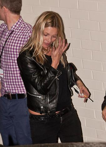 Despite getting older Kate still likes to party and can still be seen stumbling out of London's members-only clubs.