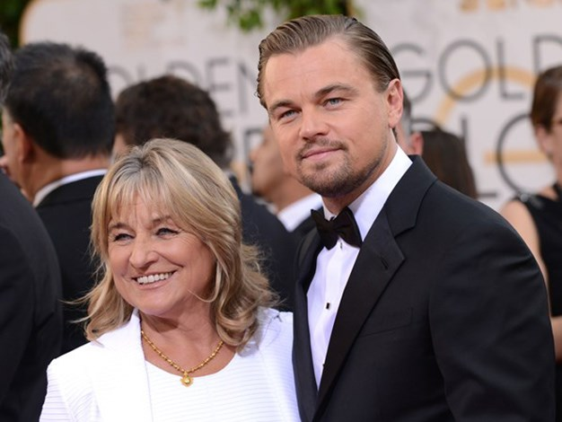 Leo took his mum as his date to the Golden Globes.