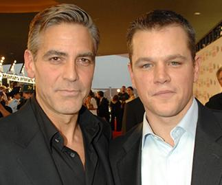 George Clooney and Matt Damon.